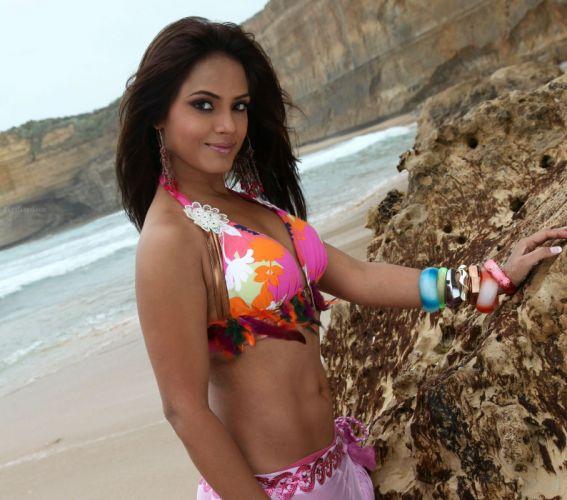 NEETU CHANDRA indian actress model martial arts model bollywood babe (39) wallpaper