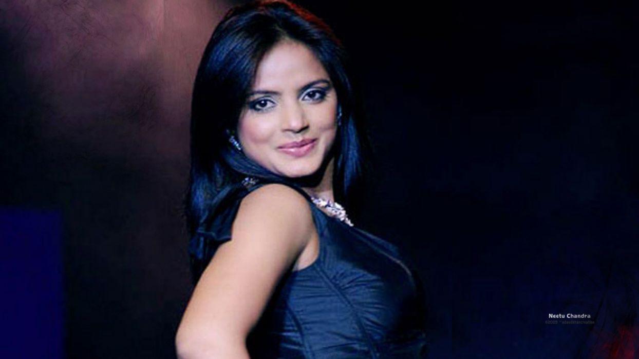 NEETU CHANDRA indian actress model martial arts model bollywood babe (50) wallpaper