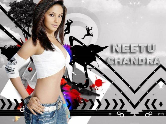 NEETU CHANDRA indian actress model martial arts model bollywood babe (80) wallpaper