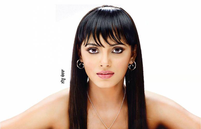 NEETU CHANDRA indian actress model martial arts model bollywood babe (76) wallpaper