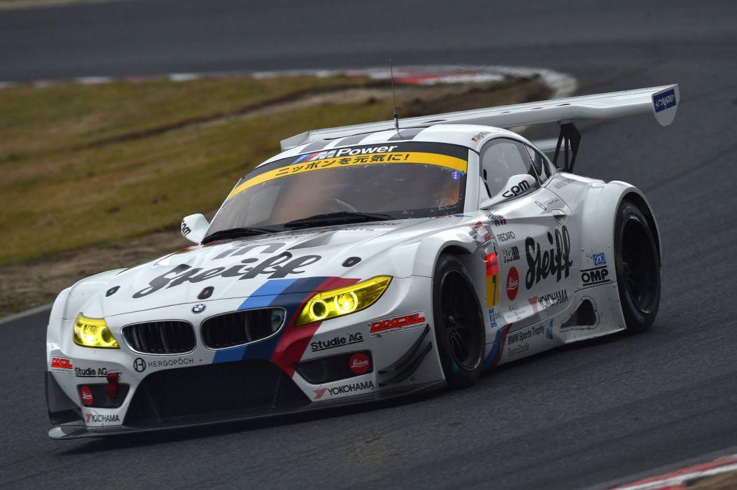 2014 SuperGT Season opener from Okayama Japan BMW Sports Trophy Team Studie BMW Z4 GT3 wallpaper