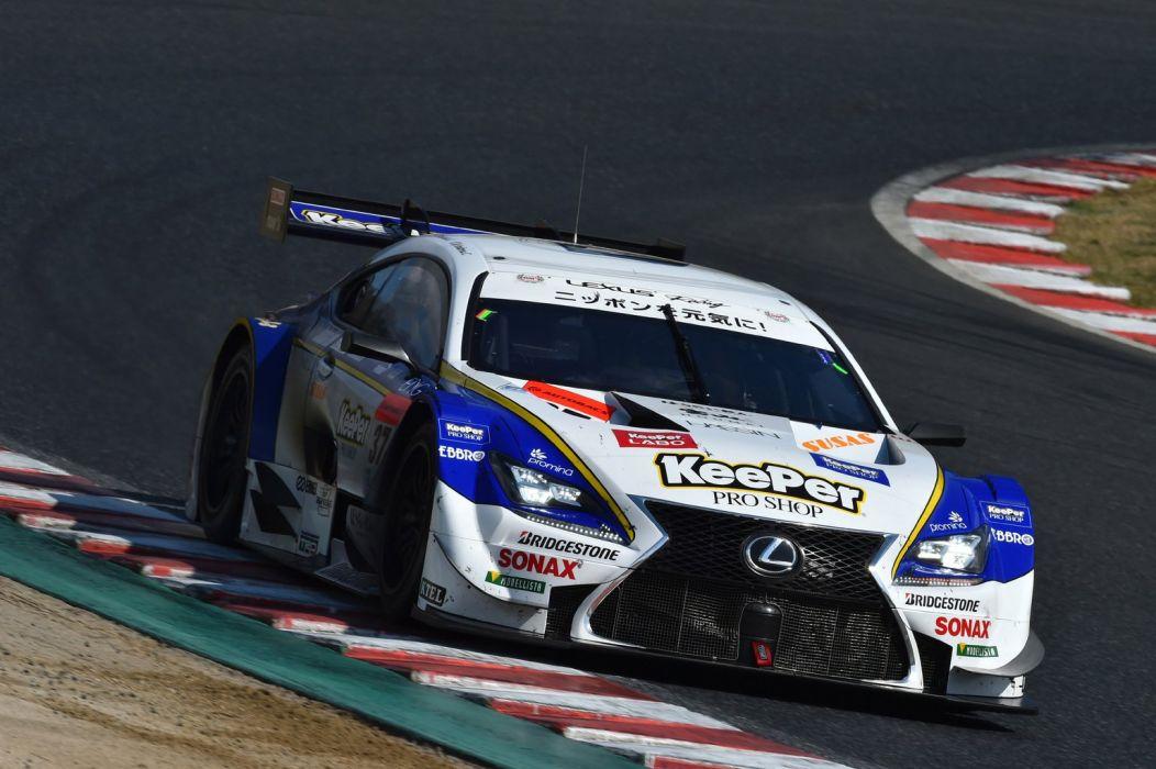 2014 SuperGT Season opener from Okayama Japan LEXUS TEAM KeePer TOM'S 2014 Lexus RC F GT500 wallpaper