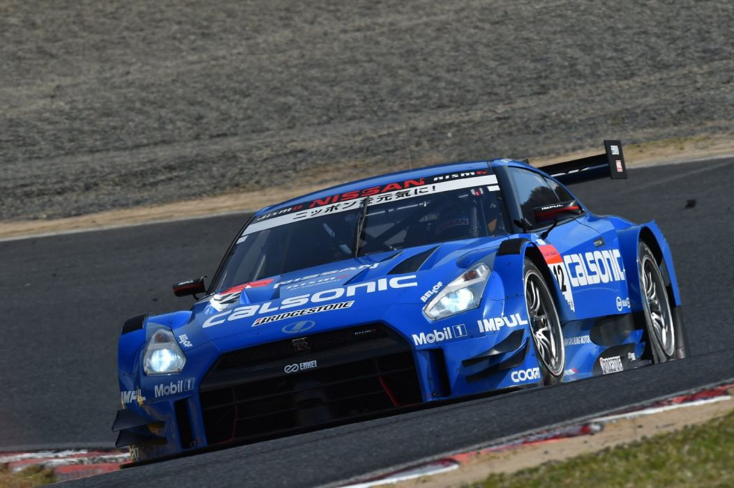 2014 SuperGT Season opener from Okayama Japan TEAM IMPUL CALSONIC 2014 Nissan GT-R NISMO GT500 wallpaper
