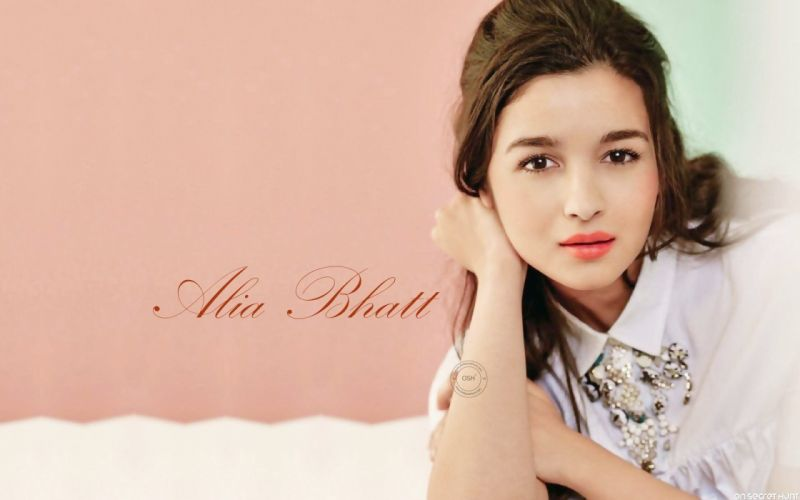 ALIA BHATT indian actress bollywood model babe (13) wallpaper
