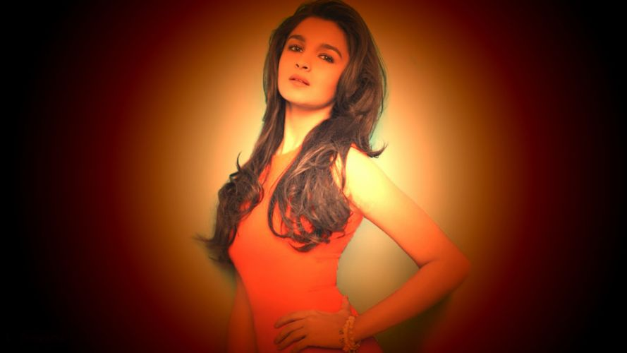 ALIA BHATT indian actress bollywood model babe (22) wallpaper