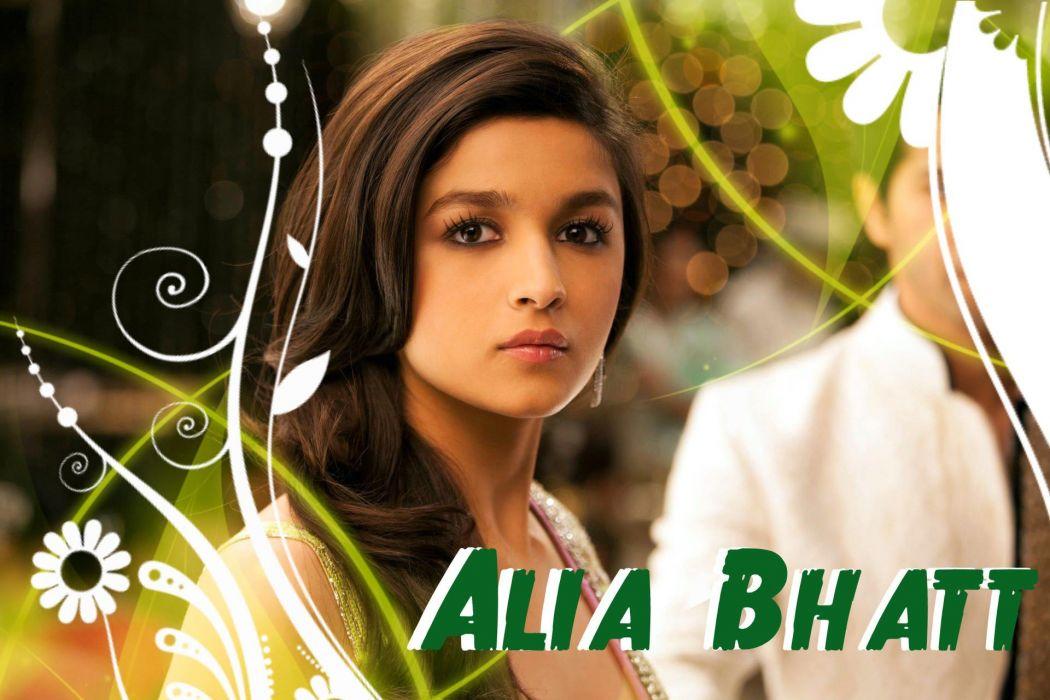 ALIA BHATT indian actress bollywood model babe (34) wallpaper