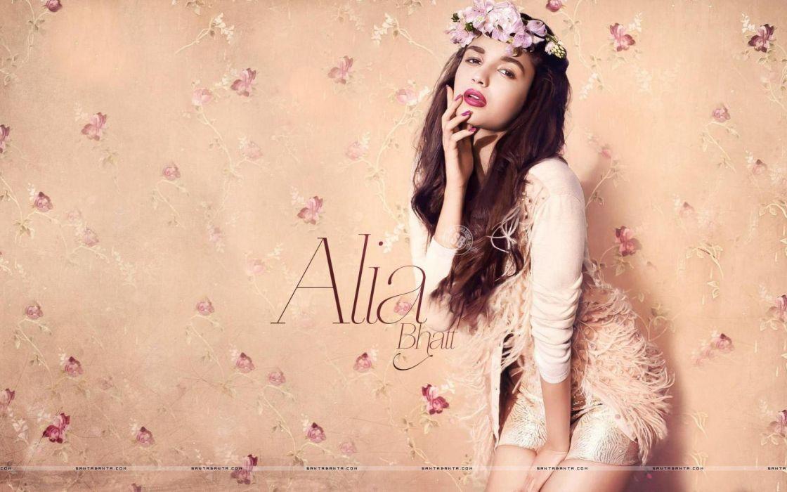 ALIA BHATT indian actress bollywood model babe (54) wallpaper