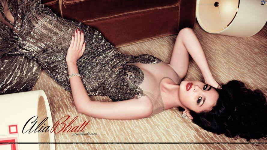 ALIA BHATT indian actress bollywood model babe (84) wallpaper