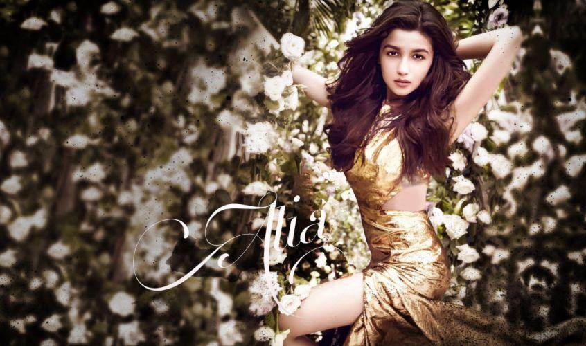 ALIA BHATT indian actress bollywood model babe (81) wallpaper