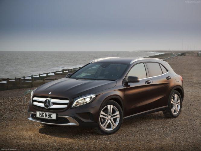 Mercedes-Benz-GLA UK-Version 2015 1600x1200 wallpaper 04 wallpaper