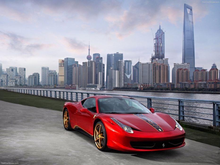 Ferrari-458 Italia China 20th Anniversary 2012 1600x1200 wallpaper 02 wallpaper