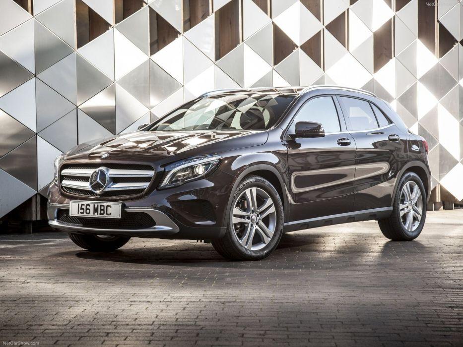 Mercedes-Benz-GLA UK-Version 2015 1600x1200 wallpaper 0e wallpaper