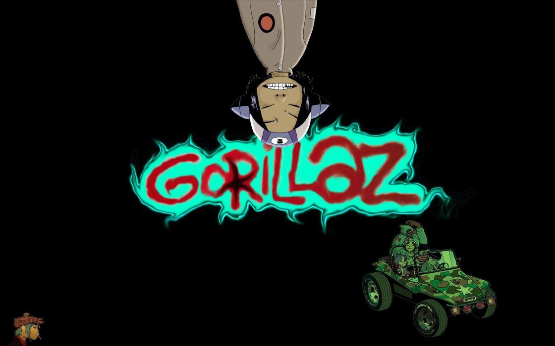 music Gorillaz Murdoc Noodle (Gorillaz) Russel Hobbs wallpaper