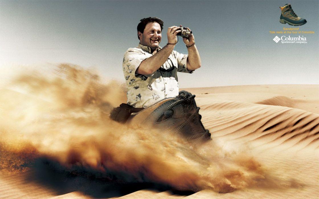 deserts advertisement wallpaper