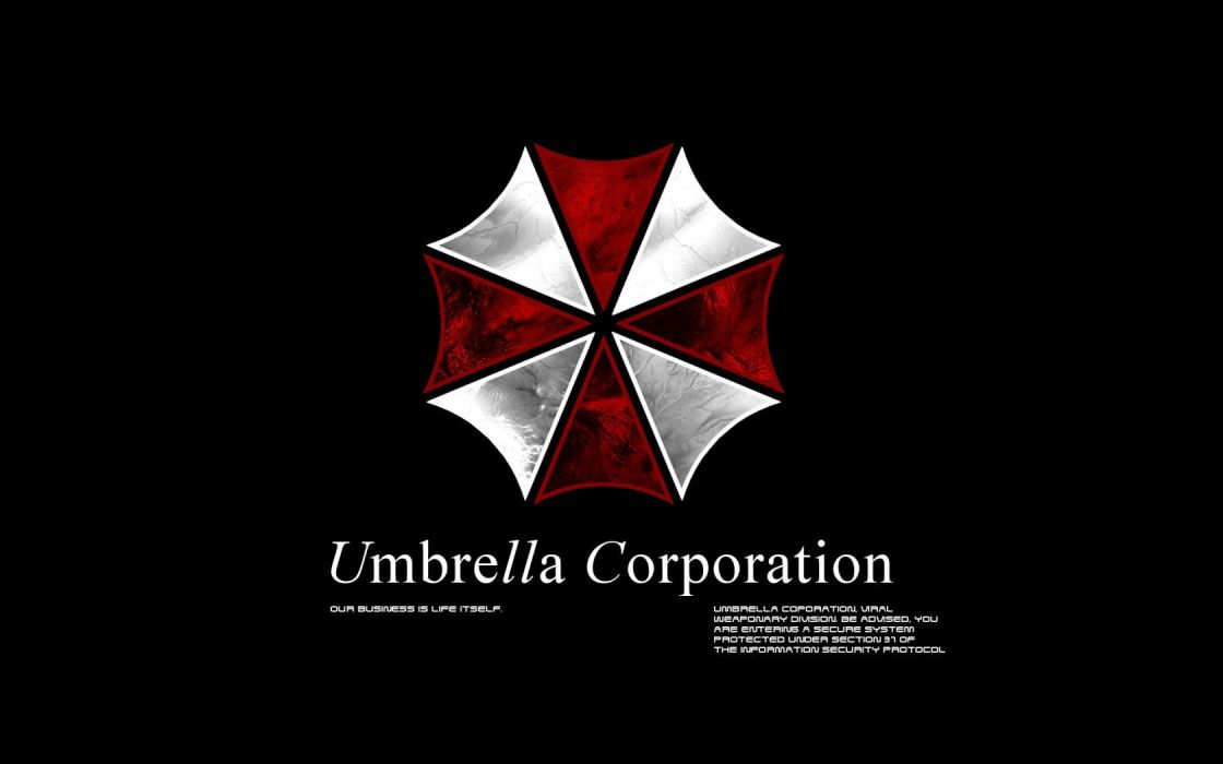 video games movies Resident Evil Umbrella Corp_ logos wallpaper