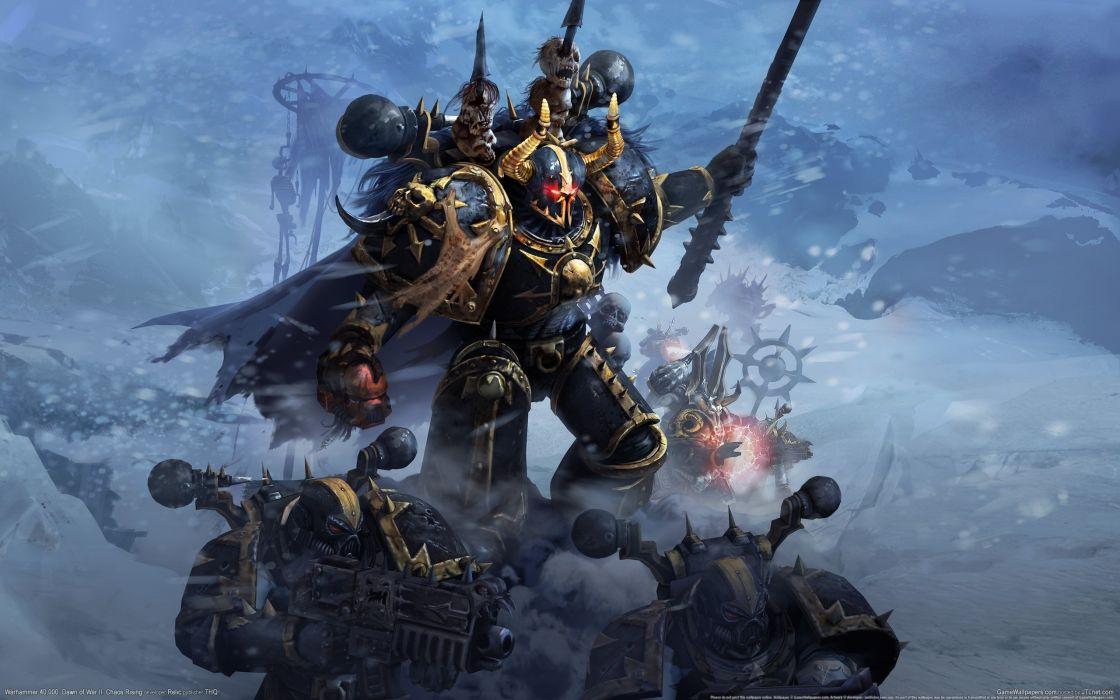 war Warhammer Chaos space marines tanks eldar Terran drawn tabletop orks last stand Black Legion wallpaper