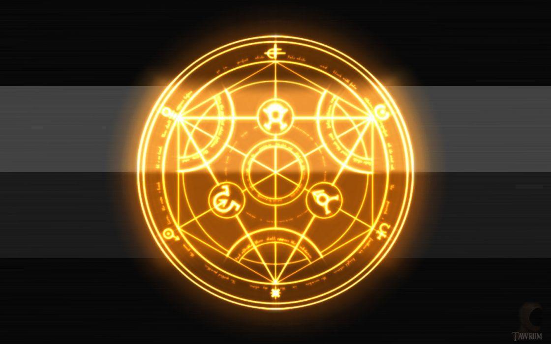 alchemy Full Metal Alchemist wallpaper