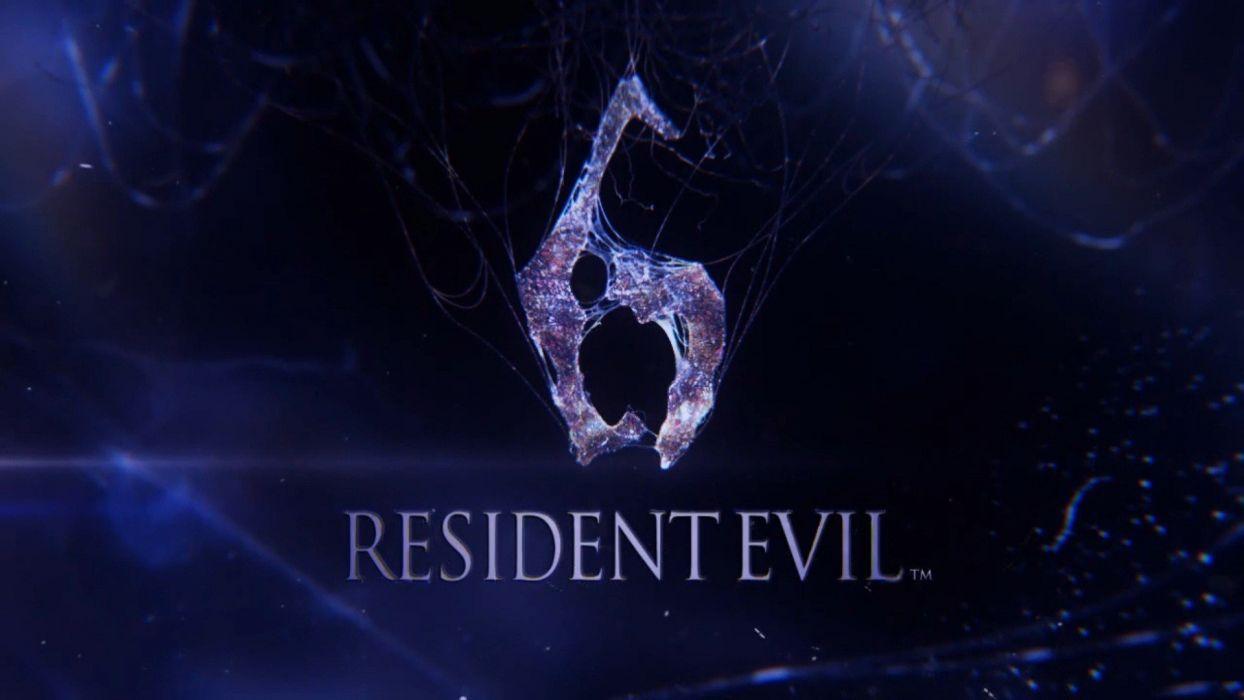 video games Resident Evil logos Resident Evil 6 wallpaper