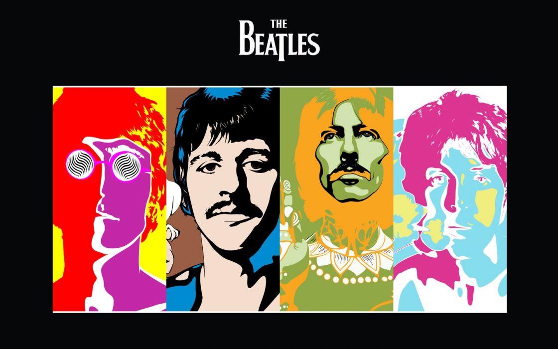 music The Beatles music bands wallpaper