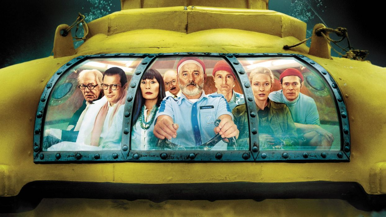 The Life Aquatic with Steve Zissou Yellow Submarine wallpaper