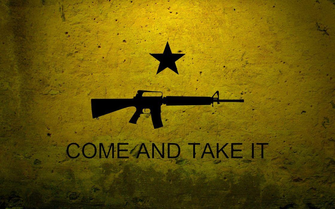 rifles stars flags USA M16 wallpaper