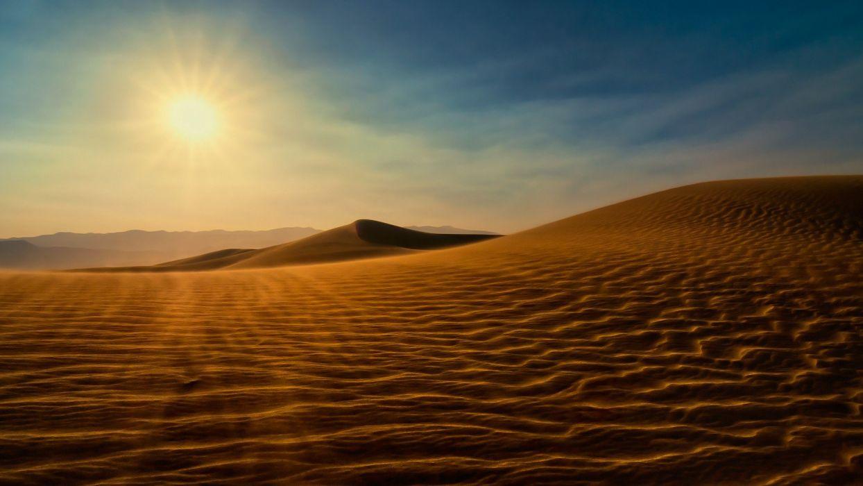 nature sand deserts wallpaper