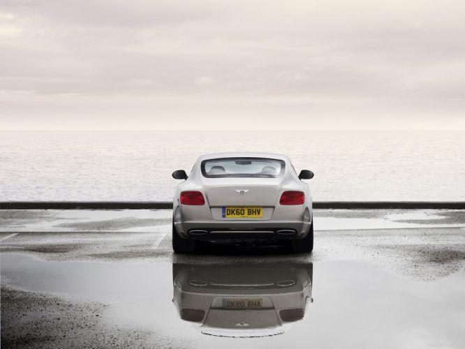 cars Bentley back view vehicles Bentley Continental GT wallpaper