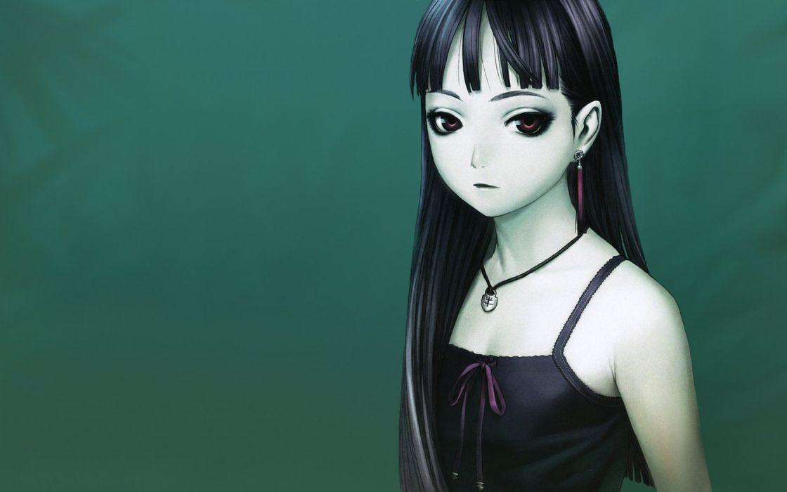 Range Murata soft shading simple background anime girls wallpaper