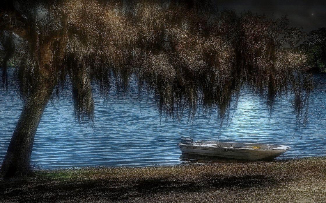 boats vehicles HDR photography wallpaper