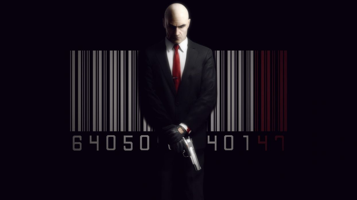 Video Games Hitman Barcode Hitman Absolution Agent 47 Hitman Blood