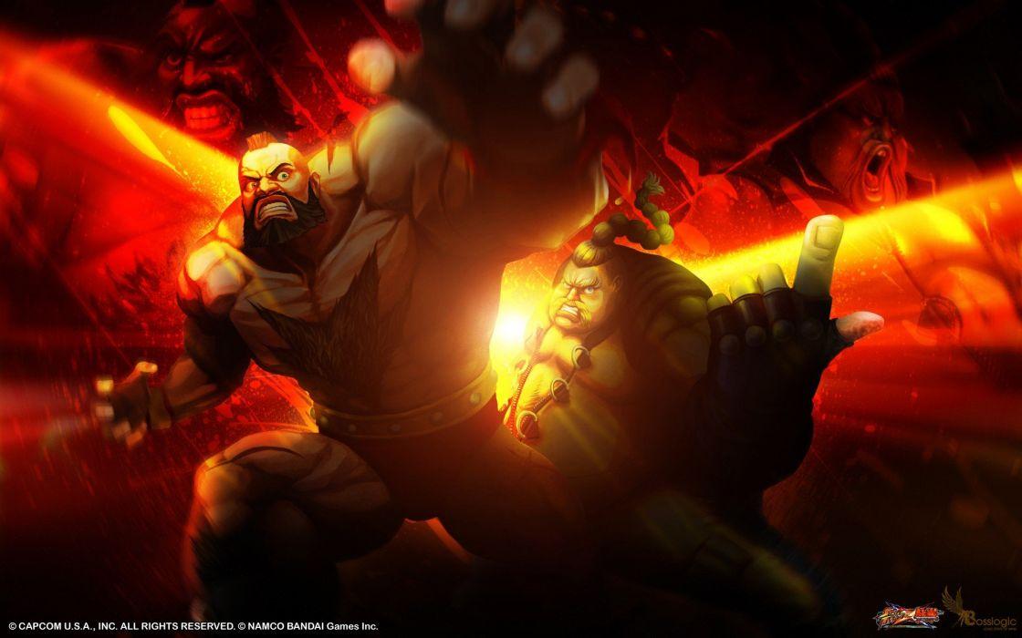 video games Tekken Street Fighter rufus Zangief Street Fighter X Tekken wallpaper