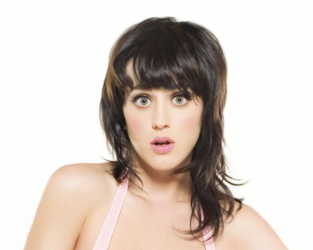 women Katy Perry celebrity singers bangs wallpaper