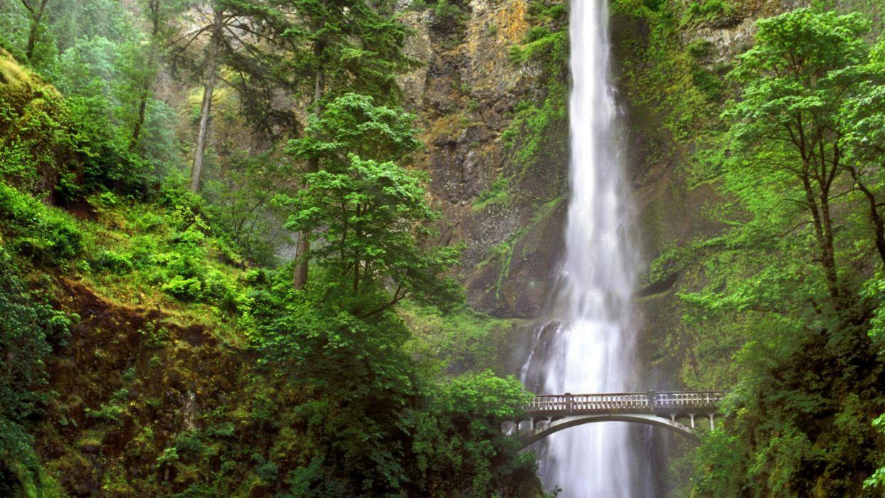 falls Oregon wallpaper