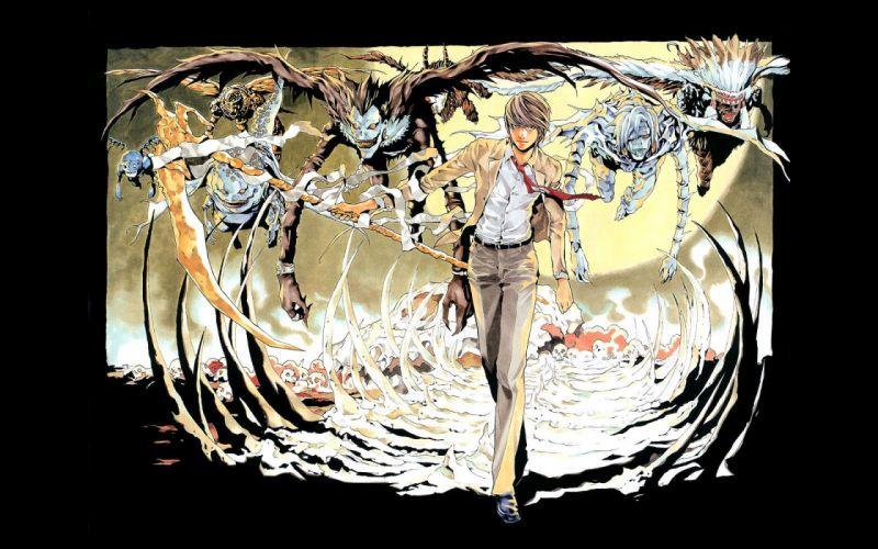 Death Note Yagami Light anime boys wallpaper