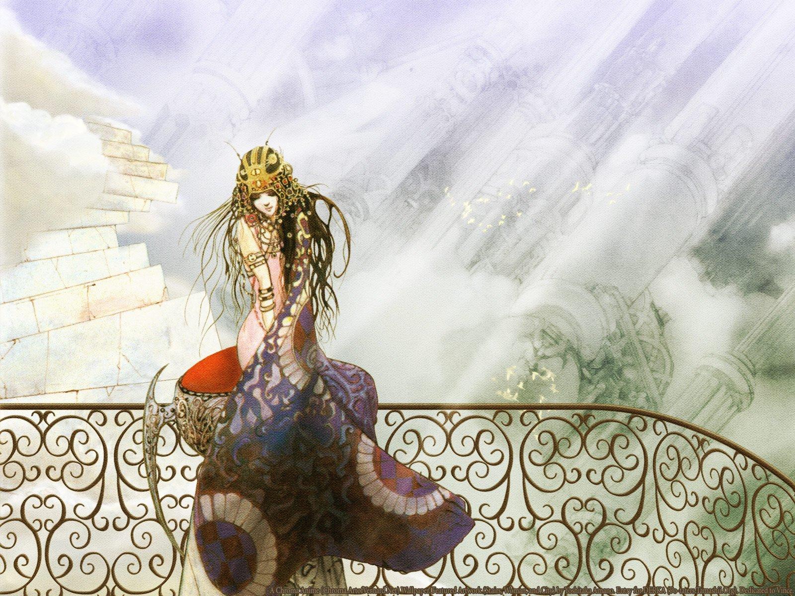 Yoshitaka Amano wallpaper | 1600x1200 | 329173 | WallpaperUP