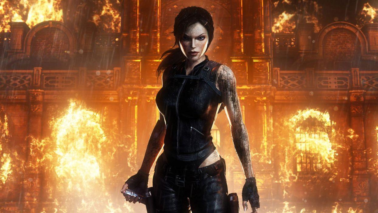 Tomb Raider Lara Croft Wallpaper 1920x1080 329237