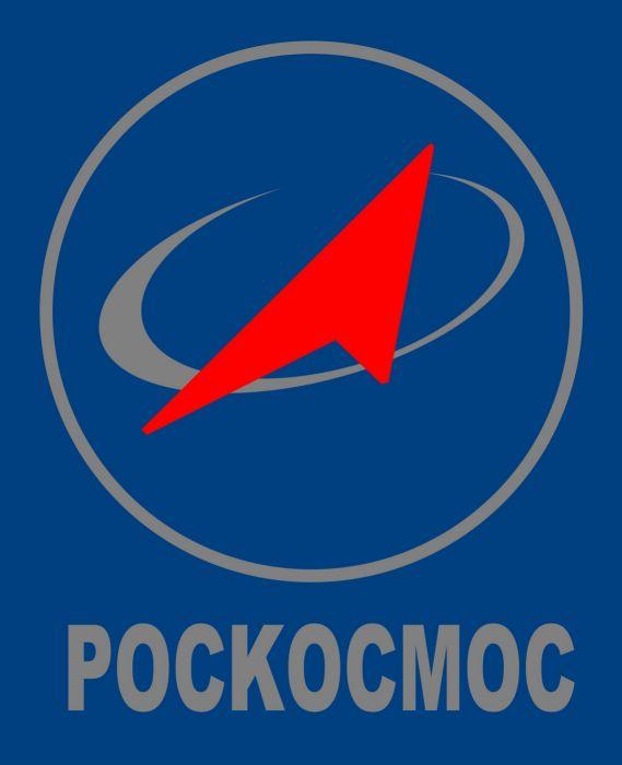 Roscosmos space Russia russian agency logo wallpaper