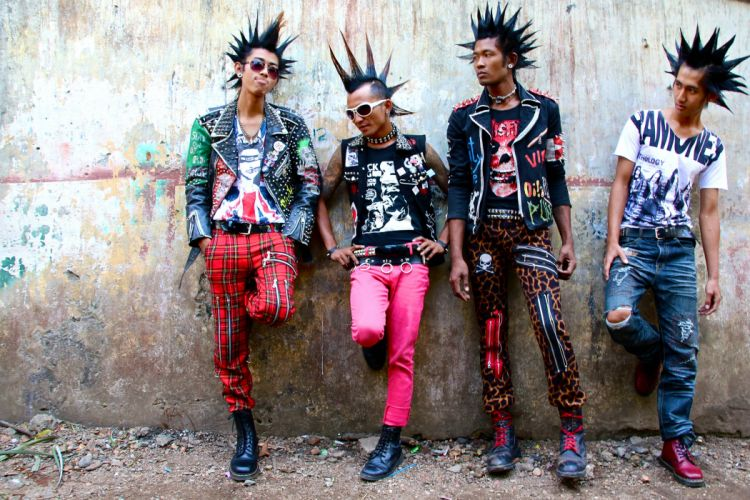 punk style attitude asian wallpaper