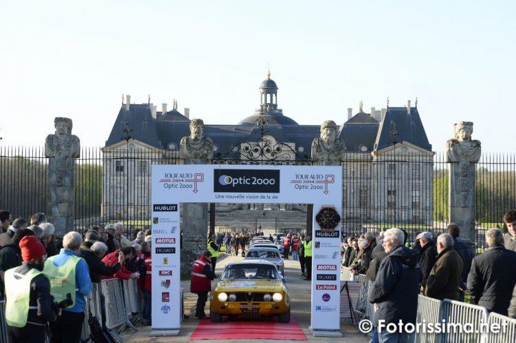 2014 Tour Auto Optic 2ooo racing gt sport Alfa Romeo gate wallpaper
