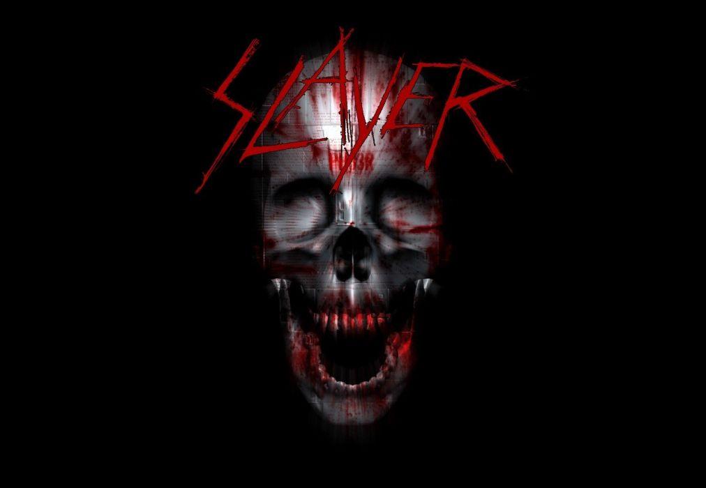 slayer thrash metal death heavy dark skull wallpaper
