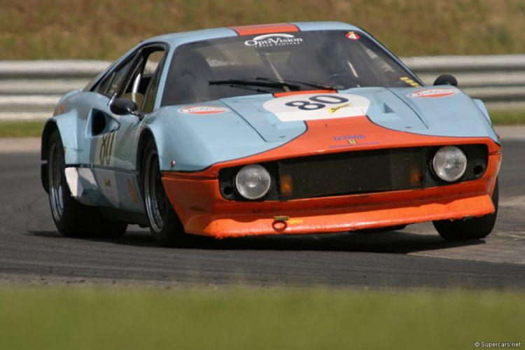 Ferrari 308 GTB Group 4 gulf racing 2999x2000 wallpaper