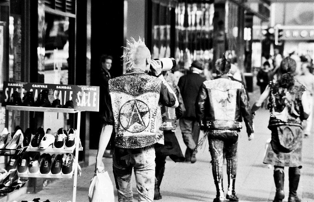 punk style attitude fetish wallpaper
