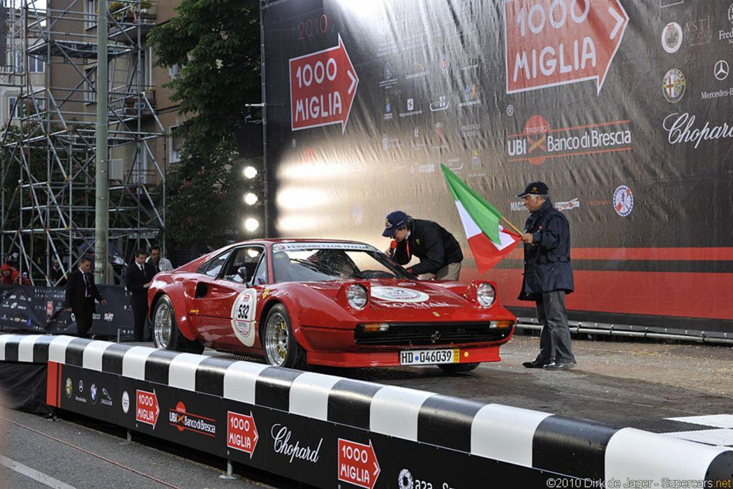 1977 Ferrari 308 GTB Group 4 1000 Miglia racing gt 2999x2000 wallpaper