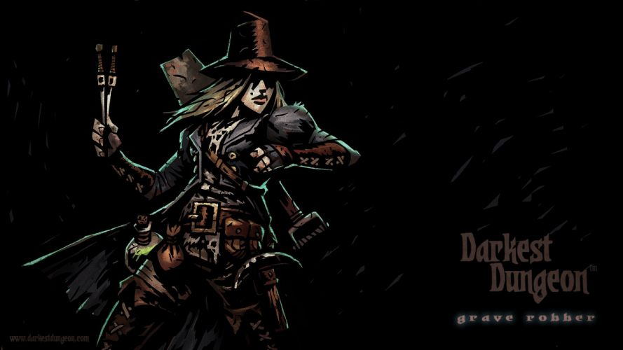 DARKEST DUNGEON fantasy dark warrior game games adventure re wallpaper