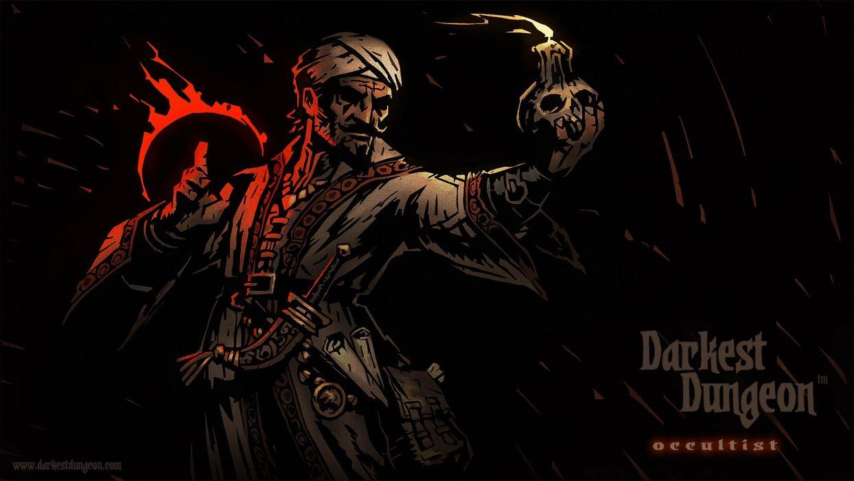 DARKEST DUNGEON fantasy dark warrior game games adventure t wallpaper