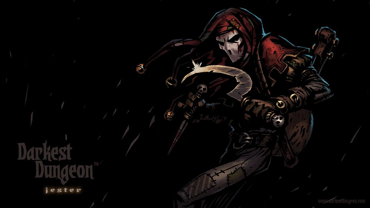 DARKEST DUNGEON fantasy dark warrior game games adventure  g wallpaper