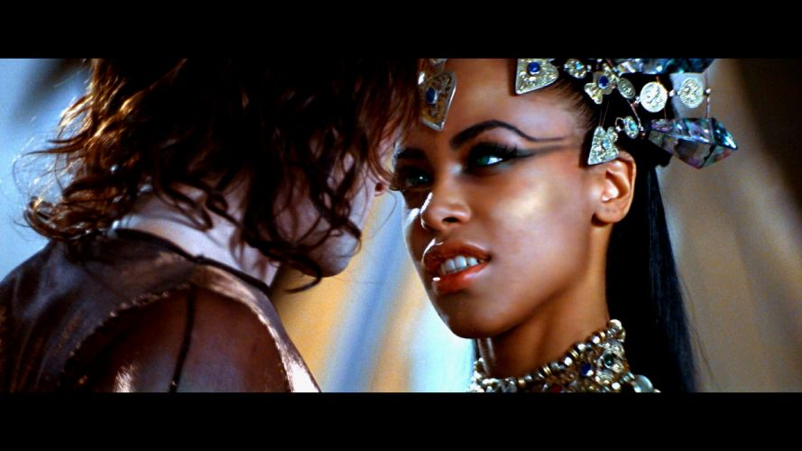 QUEEN OF THE DAMNED fantasy horror dark heavy metal vampire aaliyah 54 wallpaper