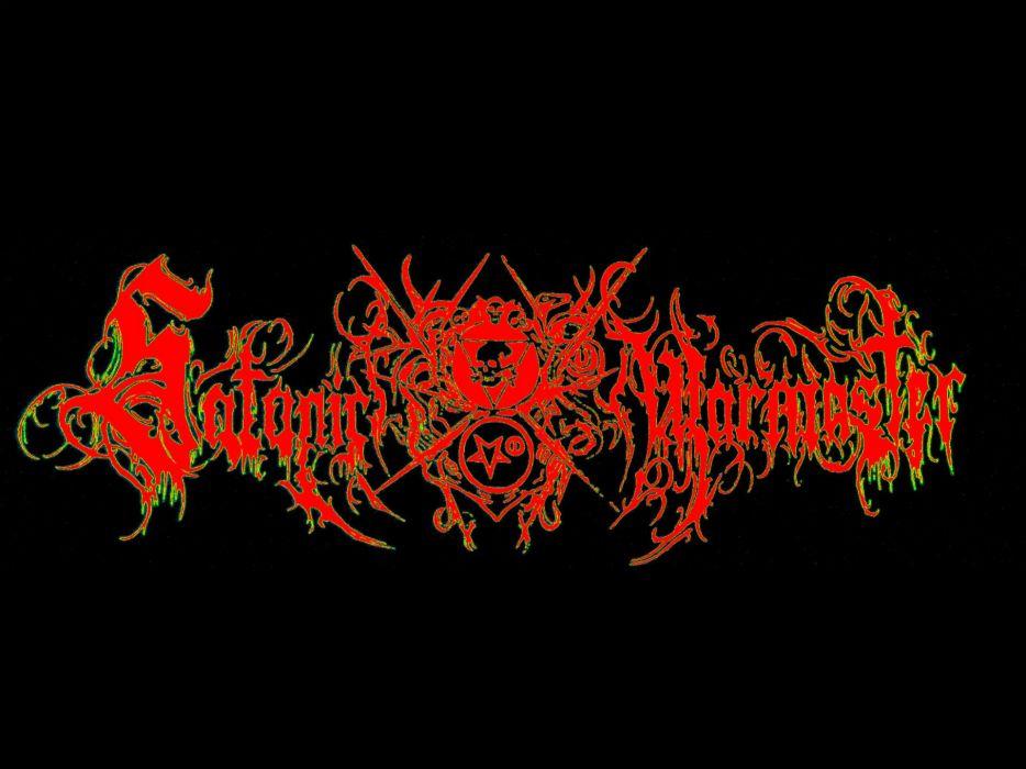 SATANIC WARMASTER black metal heavy dark   ZM wallpaper