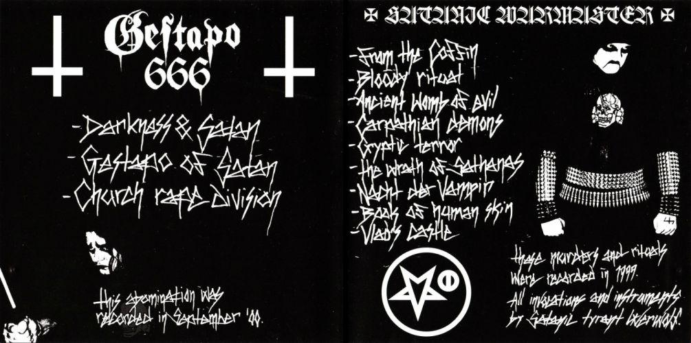 SATANIC WARMASTER black metal heavy dark hr wallpaper