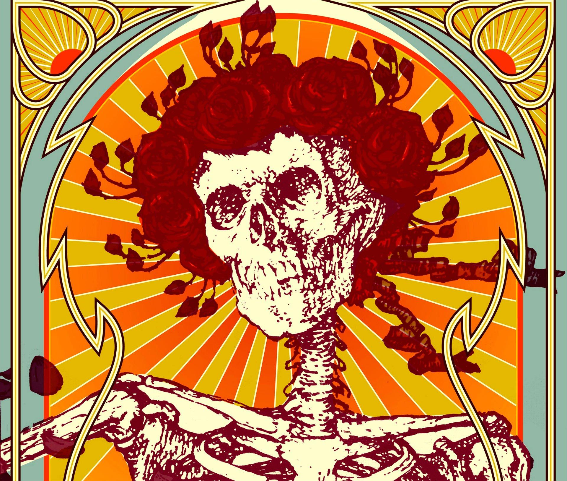 grateful dead classic rock hard gu wallpaper 1920x1627